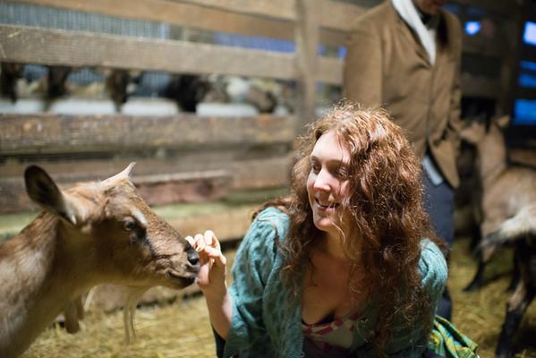Solstice Goat Farm Dinner